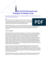 The NATO MOVEMENT AND TRANSPORTATION
