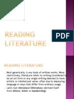 Reading Literature