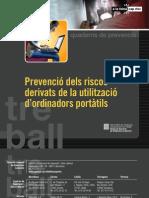 ERG1011008 Prevenció dels riscos derivats de la utilització d'ordinadors portàtils