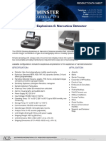 Explosive Narcotics Desktop Analser and Detector