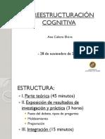 ME2.C13. ANA CALERO. Reestructuración Cognitiva
