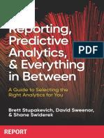 Reporting to Predictive Analytics