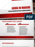 Importance of Packing in Marine Insurance