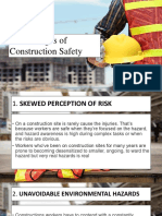 5 Challenge in Construction Safety