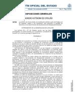 Ley 6/2019, de 23 de octubre, de modificación del libro cuarto del Código civil de Cataluña