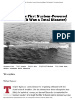 Meet China's First Nuclear-Powered Submarine (It Was a Total Disaster) _ the National Interest