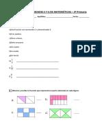 Control Unidades 5 y 6 de Matemáticas