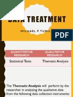 Data Treatment