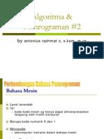 2. Konsep Bahasa Pemrograman