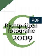 Richtprijzen 2009