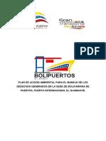 Plan de acción ambiental para el manejo de los desechos generados en la sede de bolivariana de puertos.docx