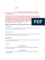 Enterprise Resource Planning Article