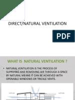 Direct Ventilation