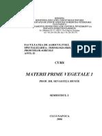 Materii Prime Vegetale 1