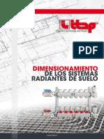Dimensionamiento de los sistemas radiantes del suelo