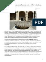 Revistaecclesia.com-Las Parábolas de Jesús de Nazaret Sobre El Reino de Dios