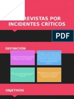 Entrevistas Por Incidentes Críticos
