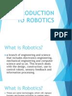 1. Introduction to Robotics 2