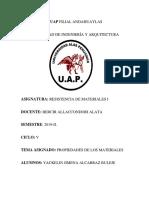 Monografia de Resistencia de Los Materiales Jimena
