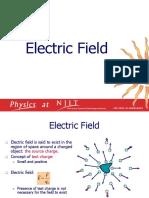 Electric Field Lec.