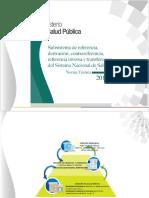 Norma Técnica - Subsistema de Referencia Derivación Contrareferencia Referencia Inversa y Transferencia Del Sistema Nacional de Salud 2014