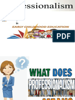 Professionalism in ECE