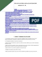 i 9-1 1996 Normativ Pentru Exploatarea Instalaţiilor Sanitare