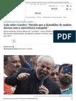 Lula sobre Guedes