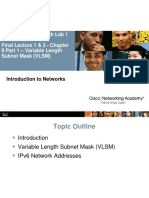 Networking VLSM LEsson