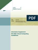 PCI Cloud Computing Guide