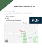CEU XVIII Locales Evaluacion Conocimientos