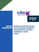ECAES 20101 GO Educacion Fisica
