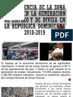 LA Incidencia de La Zona Franca en La