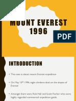 Group 9_mt Everest