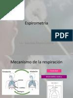 Espirómetria