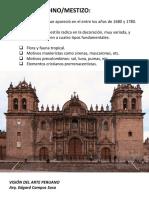barroco andino mestizo