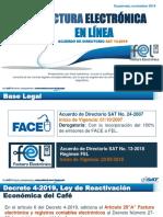 Factura Electrónica en Línea, 04-11-2019