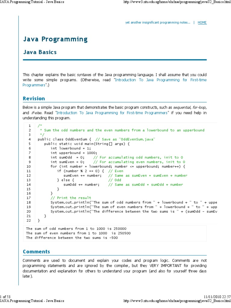 Java lsb first