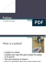 Pulleys Power Point