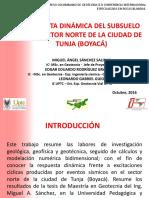 Presentación Respuesta Dinámica Tunja Sector 2 V2