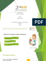 Unidad 3 Fase 4 - Plantear Estrategias de Fortalecimiento Antropologia Psicologica.