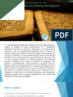 Sagradas Escrituras 4. Inerrancia y Autoridad de Las Escrituras