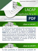 LACAP Titulo 4 - Capitulo 4 y 5