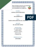 Cadena Agroalimentaria Del Aguacate