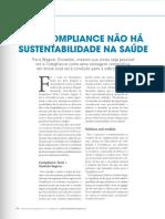 Sem Compliance Não Há Sustentabilidade Na Saúde