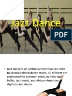 Jazz Dance Powerpoint