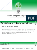 Sample Articles of Incorporation