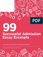 AdmitSee 99 Essay Excerpts eBook (1)