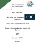 Portafolio de Evidencias 2da Unidad