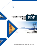 CSC-326 Transformer Protection IED Product Guide